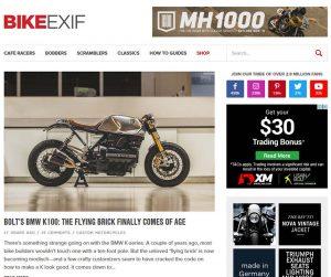 Bike EXIF